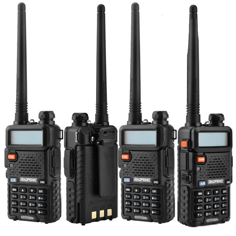 Image 4 - BF UV5R Walkie talkie Manual Frequency Modulation 10KM Communication Distance 5W Power UV Dual frequency Security Walkie Talkie-in Walkie Talkie from Cellphones & Telecommunications