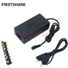 Универсальный адаптер для ноутбука 96 Вт светодиодный зарядное устройство Регулируемый блок питания 8 съемные заглушки для ноутбуков Dell HP, Toshiba acer Asus