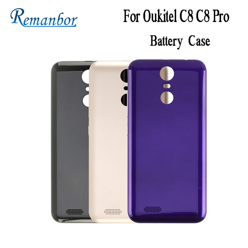 Remanbor For Oukitel C8 C8 Pro Battery Cover Protective Battery Back Case Fit Replacement For Oukitel C8 Pro Mobile Accessories