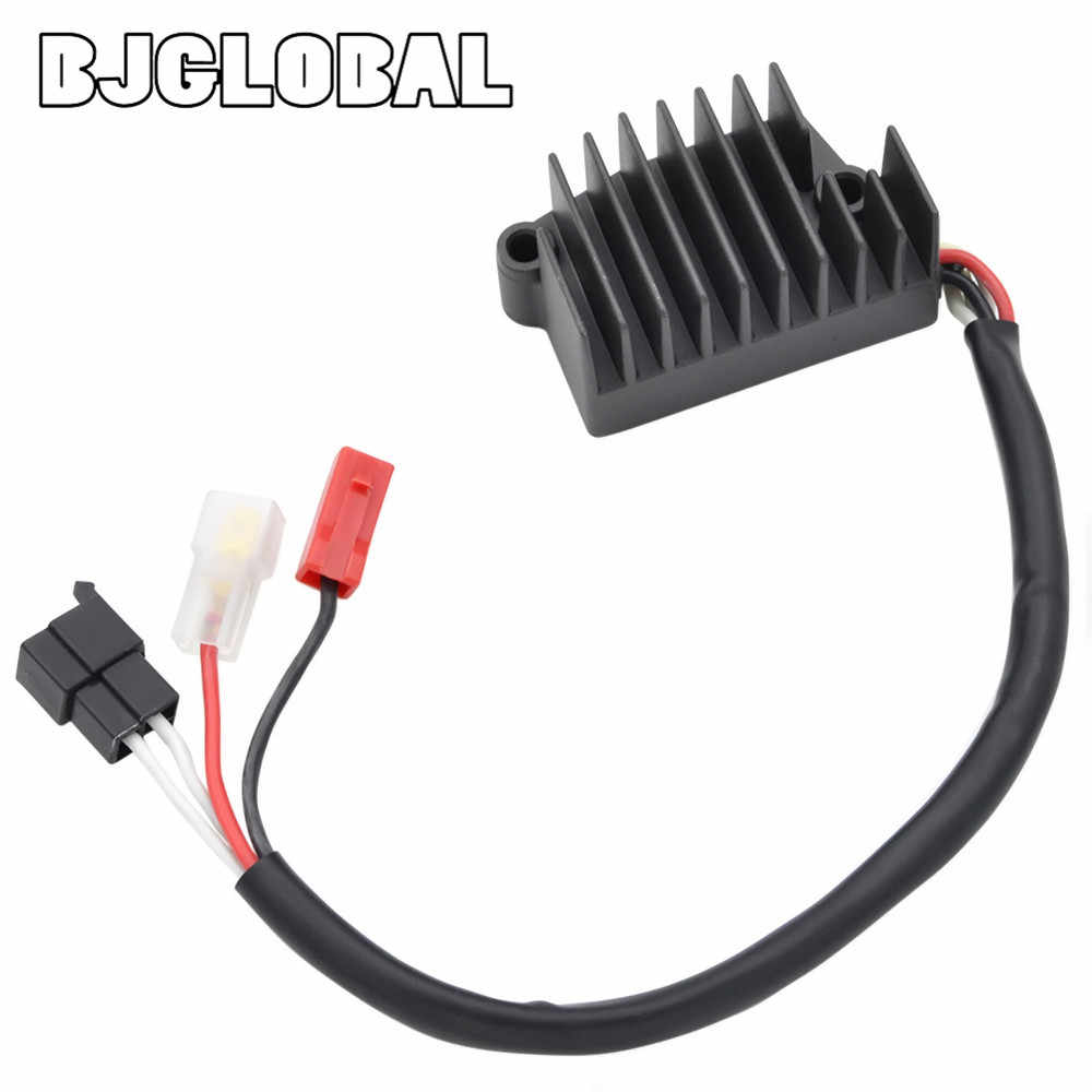 BJGLOBAL Motorcycle Metal Voltage Regulator Rectifiers For Yamaha VMX1200 V-MAX 1200 1996-2007 2000 2003 Black Quality