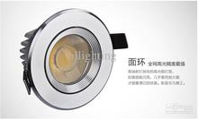 Cheap Round  Led Recessed Light Best LED  15W  Led Down Light Round sliver 15W COB LED Downlight 20pcs