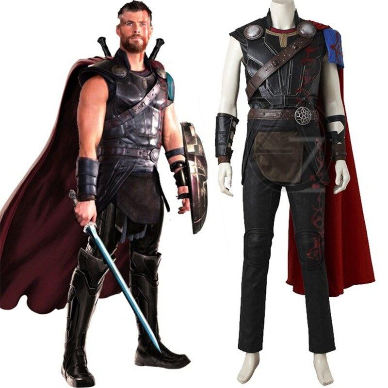 Superhero Thor Odinson Cosplay Costume Thor Ragnarok