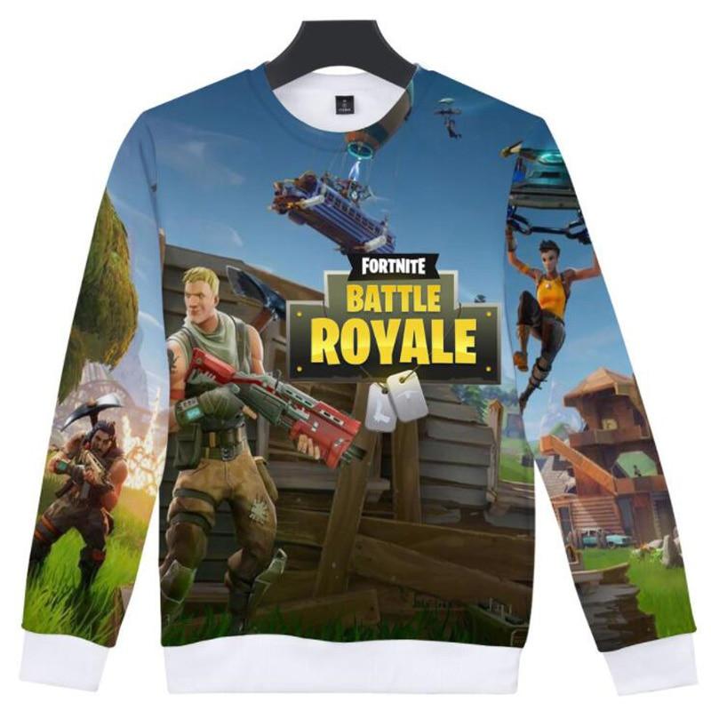 Fashion Brand Fortnite Battle Royale 3D Print Men Hoodies Sweatshirts Fortnite Game Casual Long Sleeve Sweat Shirt Homme Fornite