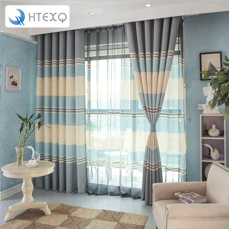 HTEXQ Fashions celebrities Drapes Insulated Blackout Curtains Living Room Curtains Draps Window Teratments Bedroom Finished