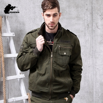 New Military Men's Jacket 4XL Slim Fat Multipocket Cotton Casual Tactical Jacket Coat Men Brand Clothing Outwear BF11061