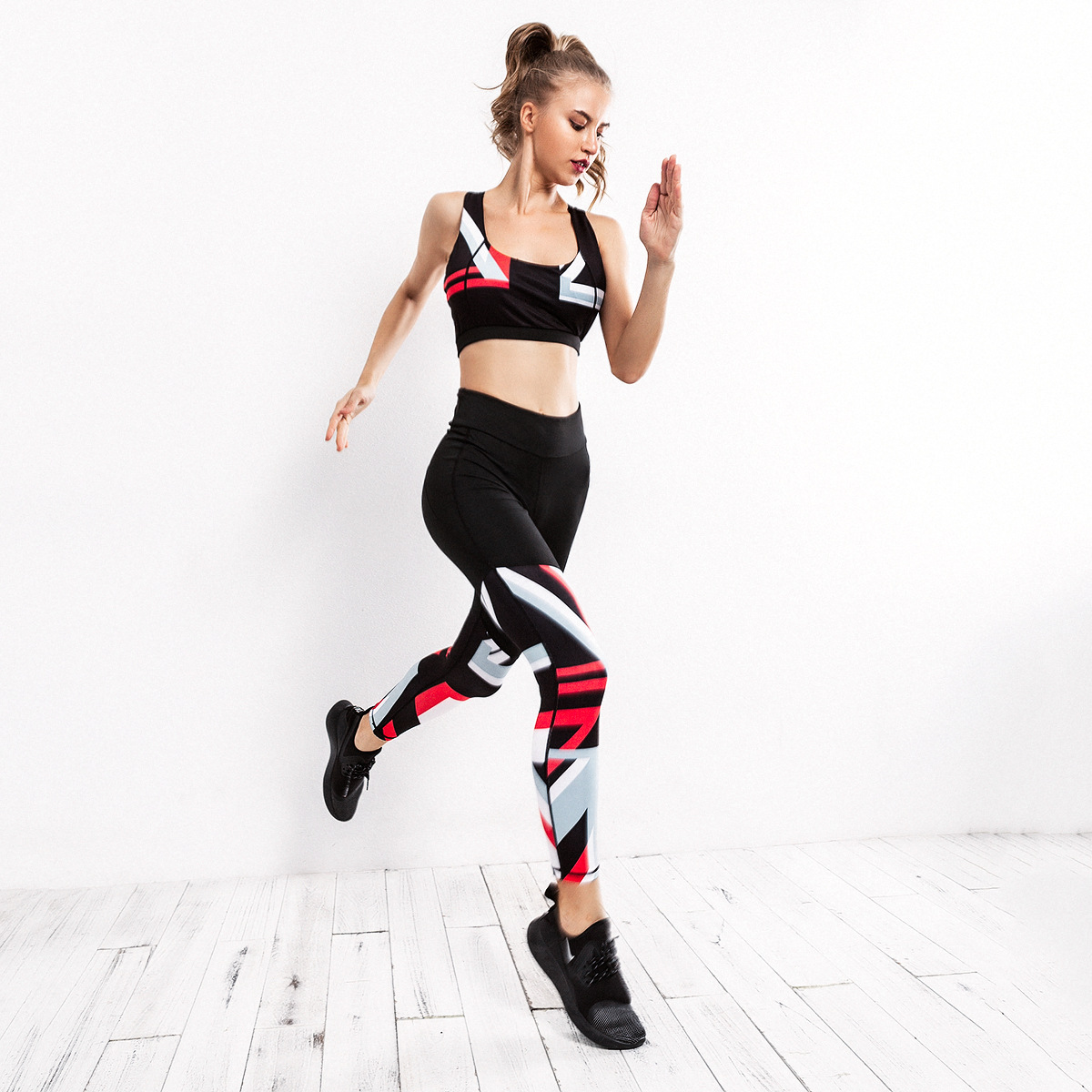 Adaptable 2018 New Running Long Pant Autumn Gym Fitness Clothing Suit Women Gym Tight Jumpsuits Sports Green Sprots Pant Leggings Running Pants Running