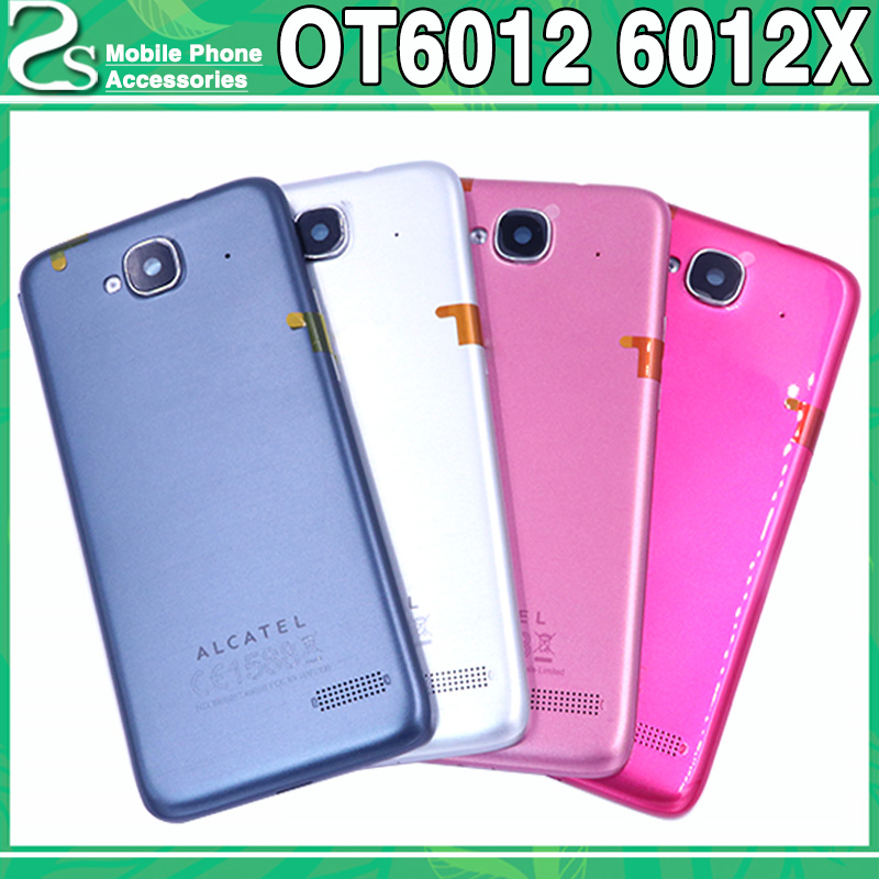 Ot6012 Battery Cover For Alcatel One Touch Idol Mini 6012 6012X 6012A 6012W 6012D Back Housing Battery Case Cover Hard PC