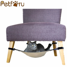 ФОТО petforu cat warm soft hanging bed cat mat kitten large hanging bed pet cat hammock bed for small dog puppy
