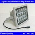 15 unids 42mil led blanco/luz infrarroja iluminador ir a prueba de agua para cctv cámara de vigilancia de visión nocturna envío gratis