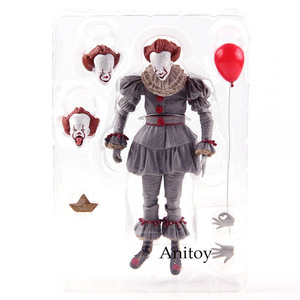 Image 5 - Giocattoli NECA Stephen Kings It the Clown Pennywise Figure PVC Horror Action Figures Toy Model da collezione