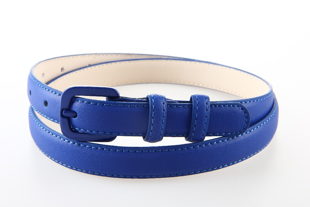 High Quality Genuine Leather Femaleb Slim Belts
