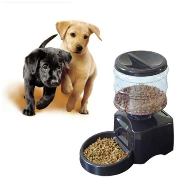 dog food feeder smartfeeder large feeders automatic dp auto pawz for dispenser programmable com dogs amazon road cats and