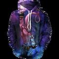EUA Tamanho Dos Desenhos Animados 3D Imprimir Unisex Pollover Hoodies Com Bolso Moletom desgaste da Longo-luva Com Capuz Harajuku Topos de Hip Hop