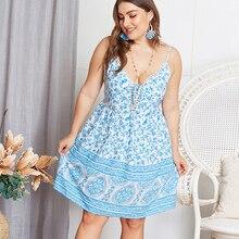 Kimuise casual loose boho dress women 2019 ukraine vestidos female floral print beach sundress hollow out v neck summer