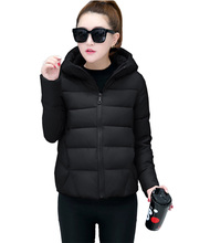 Flying ROC women parkas mujer 2018 winter jacket hooded long sleeve korea style female coats autumn jackets women