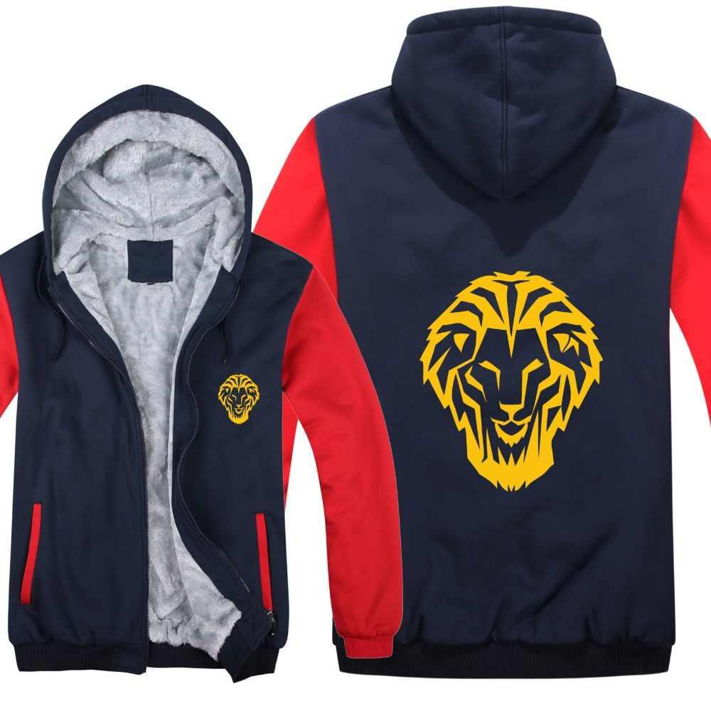 TAMG Große größe 5XL hoodies 2019 Athletics Bilbao Espana Leones Jacke Winter Mann Mantel Casual Wolle Liner Fleece Sweatshirts