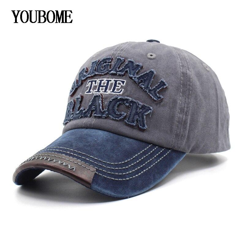 YOUBOME Baseball Kappe Frauen Hüte Für Männer Trucker Marke Hysterese Kappen Männlichen Vintage Stickerei Casquette Knochen Schwarz Papa Hut Caps