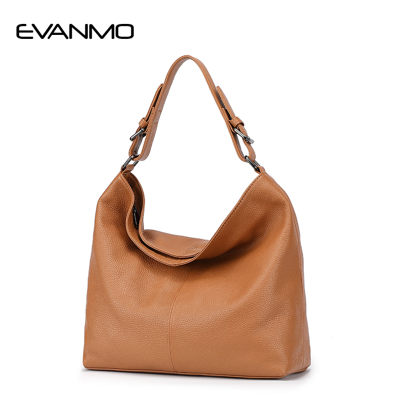 Woman Leather Handbags Genuine Leather Bag Female Hobos Shoulder Crossbody Bags High Quality Leather Totes Women Messenger Bag fashion crocodile genuine leather bags for women leather handbags female high quality big red leather shoulder messenger bag