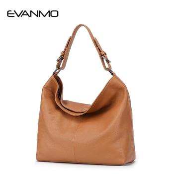 Woman Leather Handbags Genuine Leather Bag Female Hobos Shoulder Crossbody Bags High Quality Leather Totes Women Messenger Bag