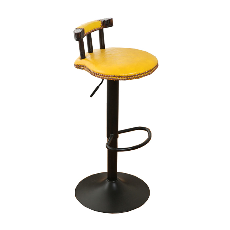 Todos Tipos Sgabello Hokery Stoel Comptoir Stuhl Banqueta Cadeira Leather Silla Tabouret De Moderne Stool Modern Bar Chair Smoothing Circulation And Stopping Pains Furniture