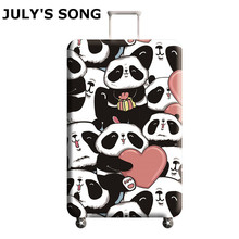 JULY'S SONG Travel Luggage Suitcase Protective Cover Stretch Dustproof Protective Cover Luggage Case Apply to 18-32inch Cases