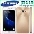 """Оригинальный Samsung Galaxy J3 Pro J3110 J3119 5.0 """"2 ГБ 16 ГБ ROM 4 Г LTE Quad Core Snapdragon 410 Телефон Dual SIM 8.0MP NFC Мобильный телефон"""