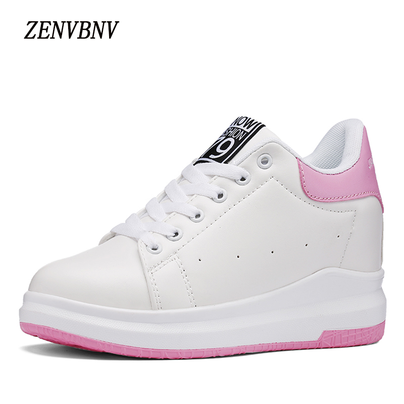 ZENVBNV2017 Autumn Lace Up font b Women b font Casual font b Shoes b font Increased
