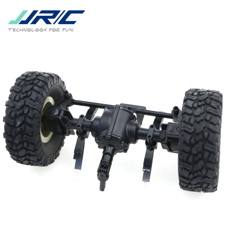 JJRC Q60 Q61 1/16 2.4G Off-Road Military Trunk Crawler RC Car Spare Part Replacement Accs Front Bridge Axle With Wheel