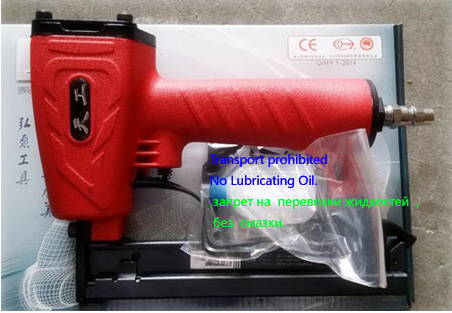 High Quality 425K pneumatic nail gun nail U shaped aluminum nail Air gun