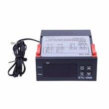 цена на G104 Free Shipping Digital Temperature Control Regulator Controller STC-1000 All-purpose 220V AC