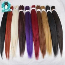 Luxury for Braiding Hair Ombre Color 26inch Jumbo Braid 26inch 10packs Pre stretched Layed Perm Yaki EZ Braids for Crochet Twist(China)