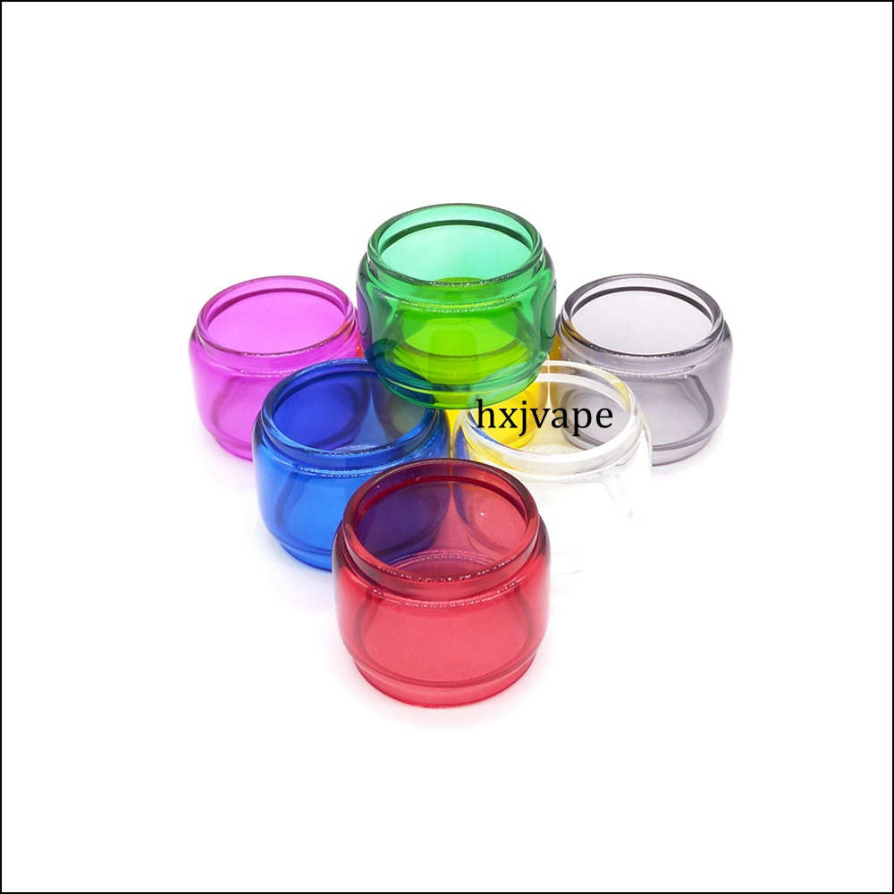 Colorful <font><b>Bulb</b></font> Bubble Pyrex <font><b>Glass</b></font> Tube 8ml Capacity for Vape SMOK <font><b>TFV12</b></font> <font><b>Prince</b></font> Tank Atomizer for Stick <font><b>Prince</b></font> / Mag 225w TC Kit image