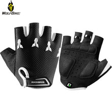 ROCKBROS 4-8 cm Sports Cycling Gloves for Kids Bike Bicycle Snowboard Child Roller Hands Protection Outdoor Training