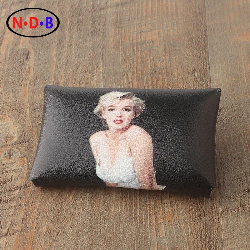 (Coin Purses) American star Marilyn Monro Marilyn Monroe Wallet Coin Bag hand bag trend LQB1007