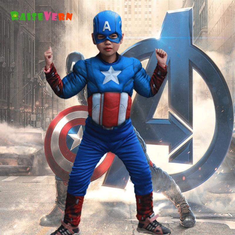 Capitan america fumetto bambini Costume
