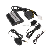 Auto Bluetooth Kits Hands free Stereo AUX Adapter Interface For Honda Civic Accord DropShip
