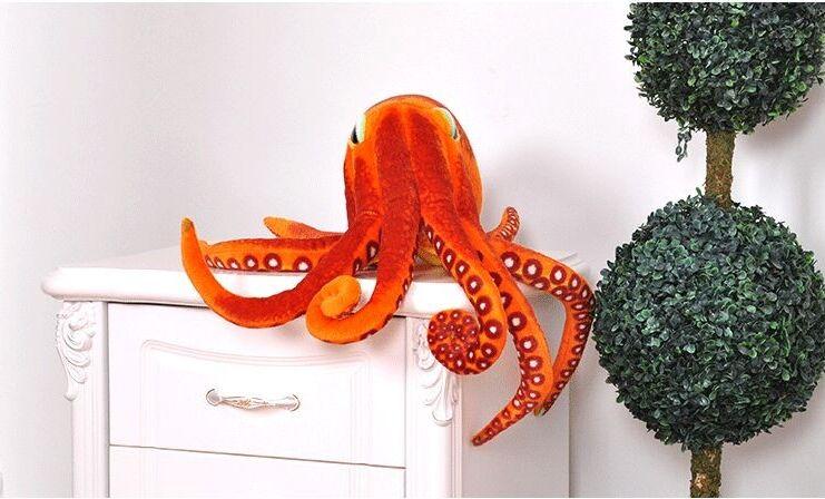 Grand nouveau peluche pieuvre jouet créatif peluche pieuvre poupée cadeau environ 50 cm 0621
