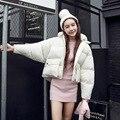 2016 Новый Зимний Европейский Южная Корея Тонкий Короткий Хлеб Утолщенной Пуховик Хлопок Женский Прилив Бесплатная Доставка