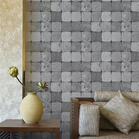 beibehang anti yellow checkered retro metal sequins KTV mural wallpaper for walls 3d papel de parede papel parede wall paper