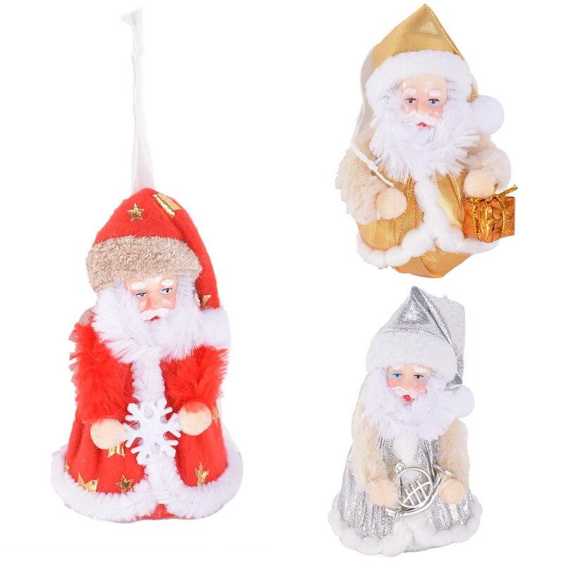 lindo de navidad de santa claus mueca de juguete adornos para rboles de navidad decoracin de
