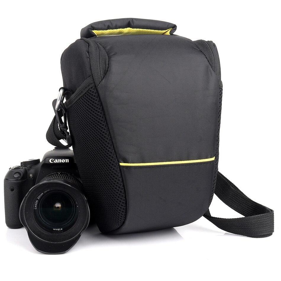 DSLR Cámara bolsa para Nikon D3200 D3300 D3400 D90 D610 D810 D750 D5600 D5300 D5100 D7500 D7100 D7200 D3100 d80 D5200 D5500