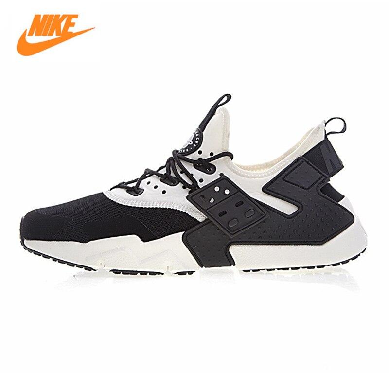 NIKE AIR HUARACHE DRIFT PRM Men's Running Shoes ,Outdoor Sneakers Shoes,White & Black Breathable Non-slip Lightweight AH7334 002 nike air odyssey white black
