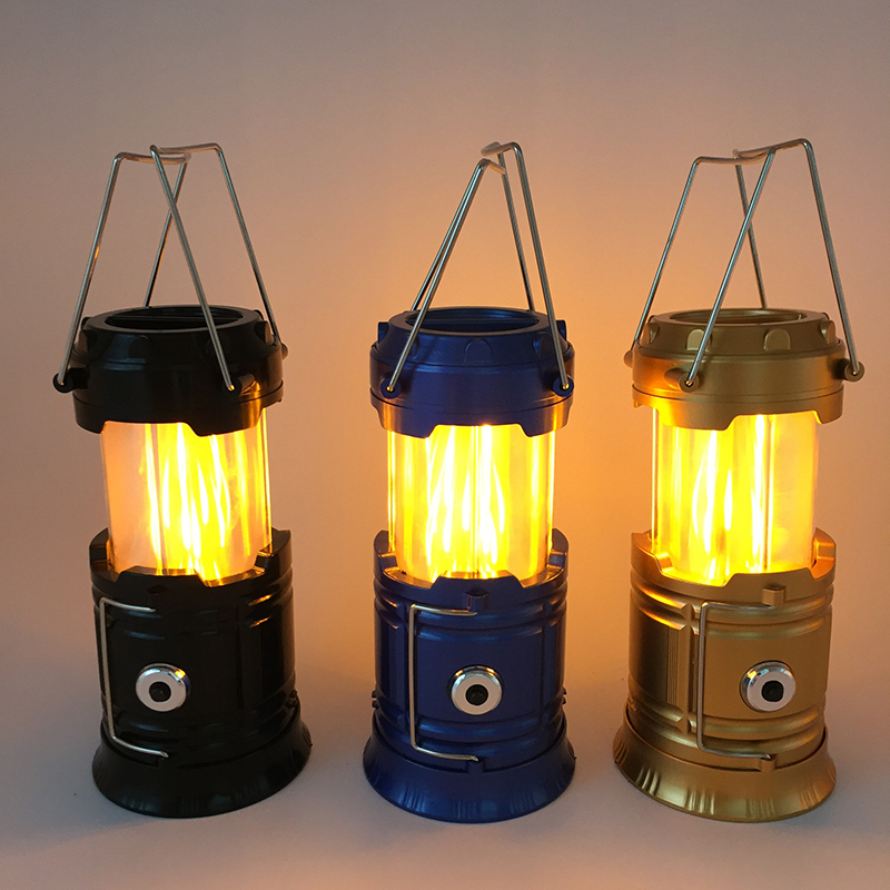 Portátil led lanterna acampamento luz 2 cores ultra brilhante mão lâmpada de emergência ao ar livre luzes da barraca lanterna uso 3 * aaa