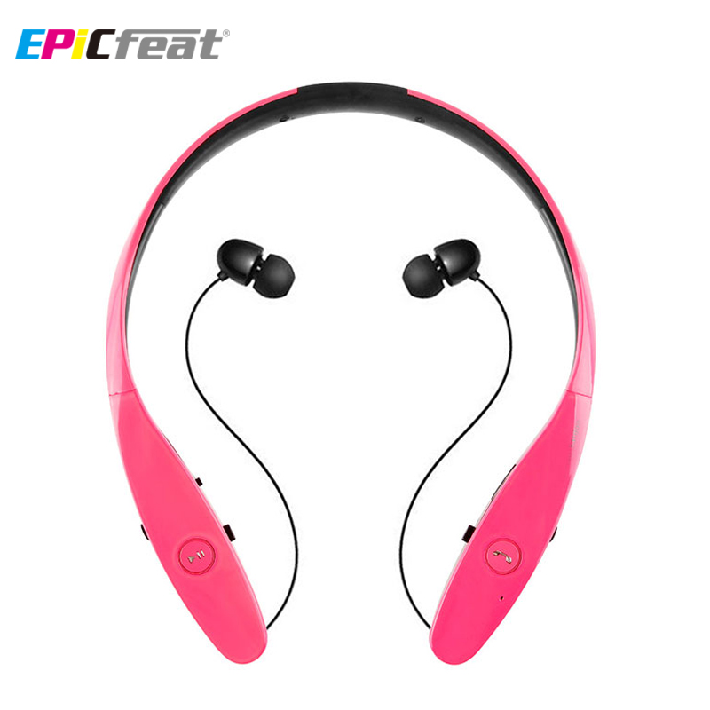 EPicfeat Wireless Bluetooth Headphone with MIC Hand-free Stereo Sport Headset for Android iOS Phone Music HBS900