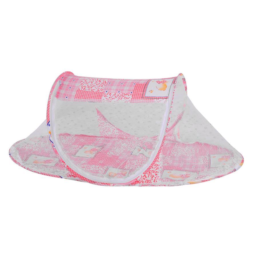 Hot! Baby Bed Portable Folding Mosquito Mesh Net Crib Child environmental protection Dropshipping may30