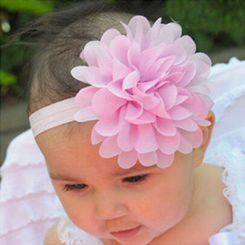 JRFSD A Cute Newborn Baby Girls Flower Headbands Photography Props Infant Baby Hair Bands Children Hair Accessories H095 new baby mickey headbands infant toddle shabby flowers headbands hair accessories photo props 1pc hb542