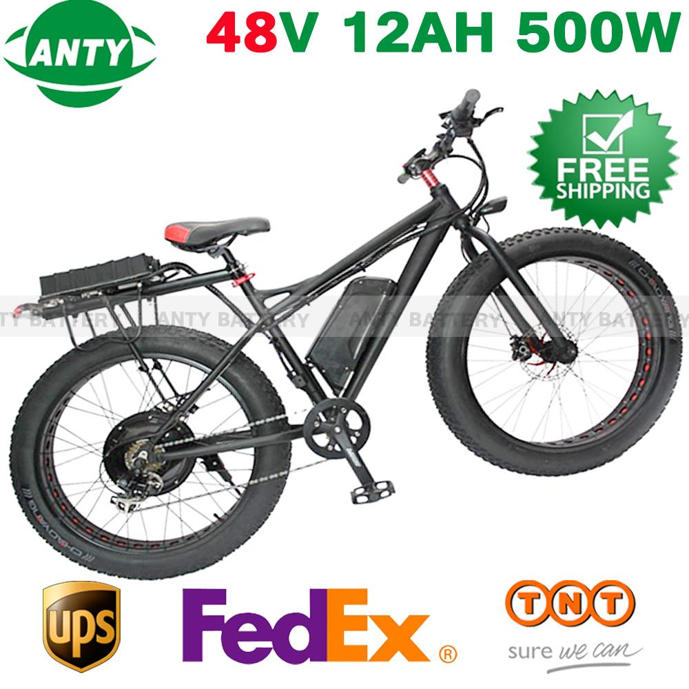 10pcs/lot Electric Bike 48v Battery 12ah 500w Ebike Battery (samsung 3000) Lithium Battery 48v With Usb ,54.6v 2a Charger,bms