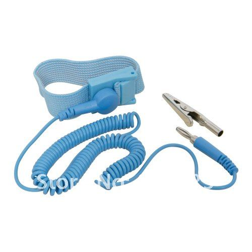 Hand & Power Tool Accessories Friendly New Anti Static Antistatic Esd Adjustable Wrist Strap Band Blue Free Shipping