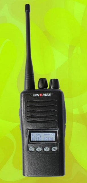 Rainproof 2 way radio with CE certificate SR-658 with LCD screen