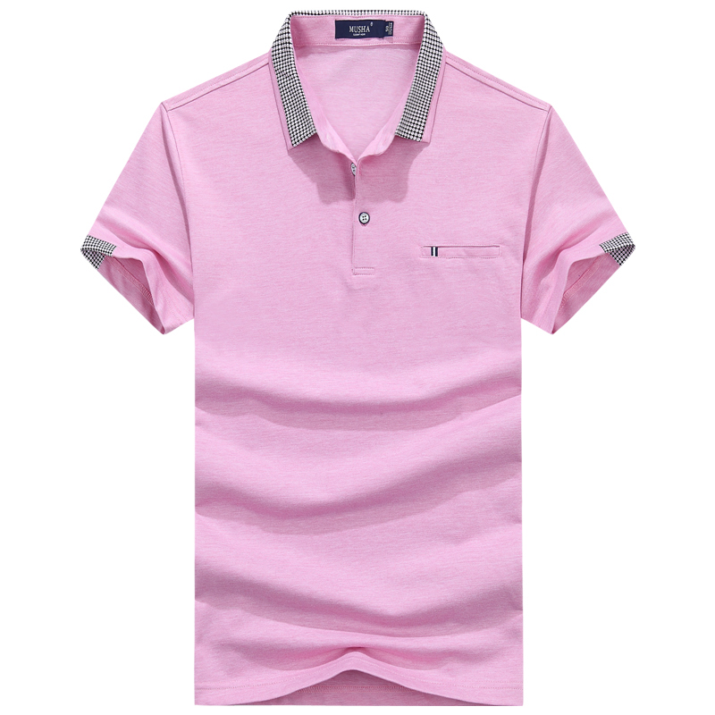 2017New Brand New Match Colors Collar Men POLO Shirts Summer Style Short Sleeve Shirts Camisas Polo Plus Size M - 3XL